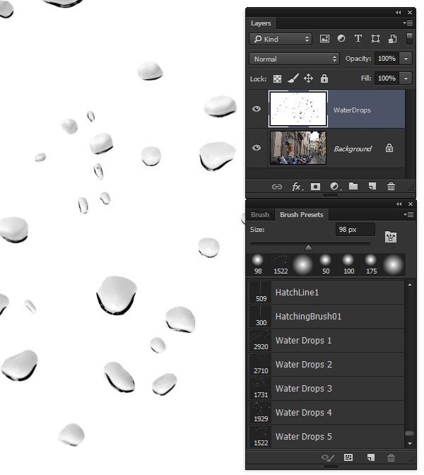 Water Drop Brush Photoshop How to Create Realistic Water Drop Reflections In Adobe