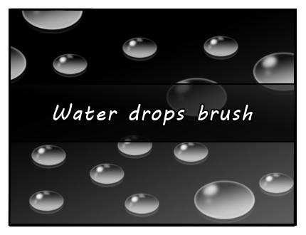 Water Drop Brush Photoshop Water Drop Brush by Faeth Design On Deviantart