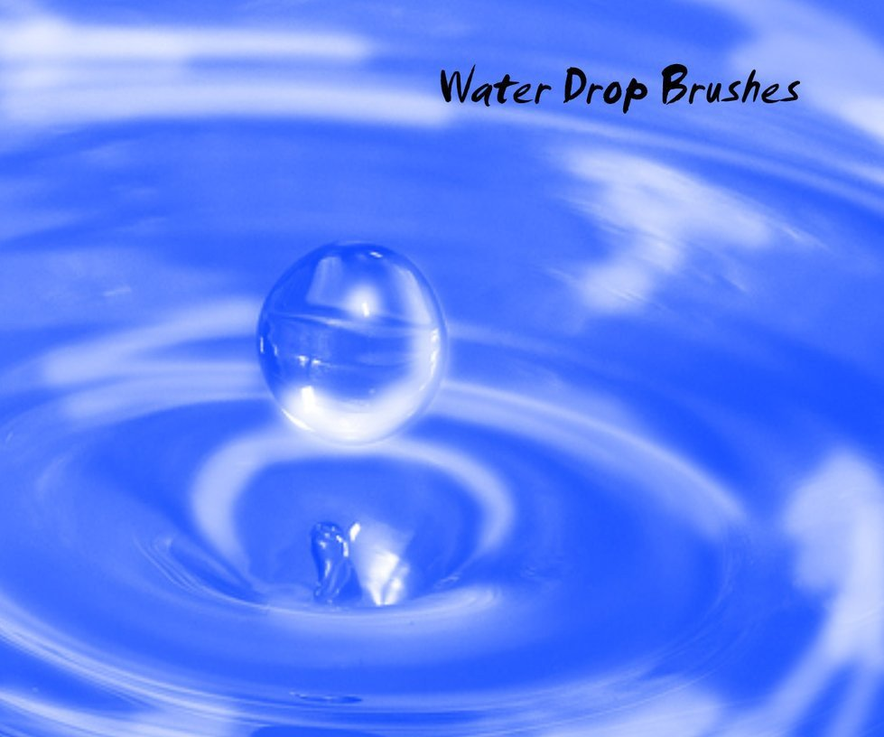 Water Drop Brush Photoshop Water Drop Brushes Symbol Shop Brushes