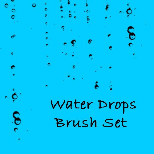 Water Drop Brush Photoshop Water Drop Shop Free Brushes