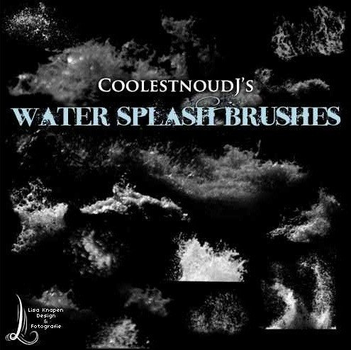 Water Splash Brush Photoshop 35 Great Splash Brush Sets for Shop Creative