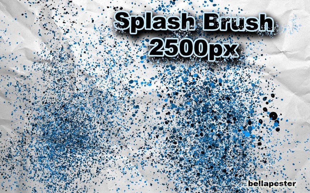 Water Splash Brush Photoshop 35 Great Splash Brush Sets for Shop