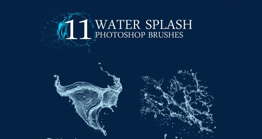 Water Splash Brush Photoshop 75 Best High Quality Shop Brushes Css Author