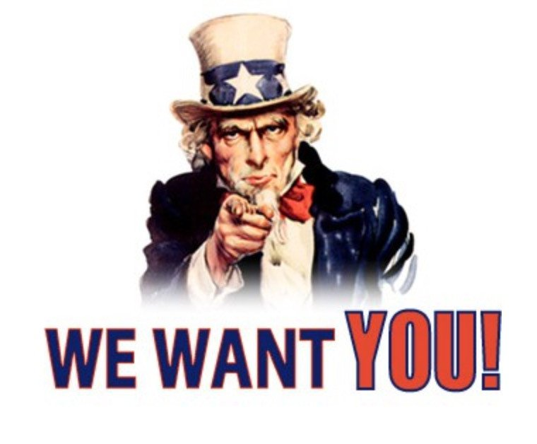 We Want You Poster Image Unclesam We Want You 1