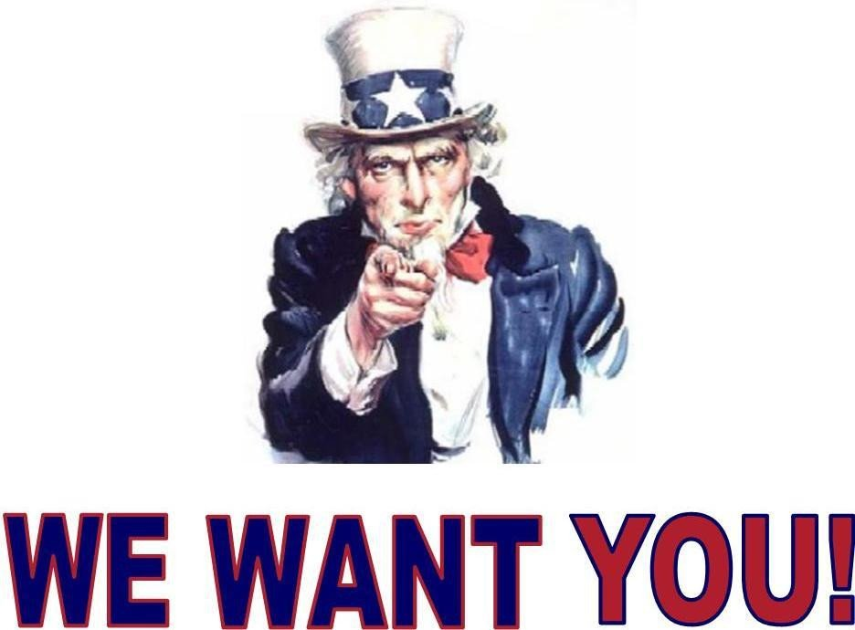 We Want You Poster Improve the Quality Of Eback Lyrics by Leaving A
