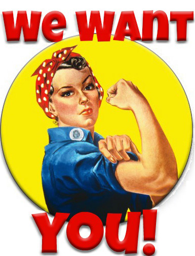 We Want You Poster Minnesota Women Of today