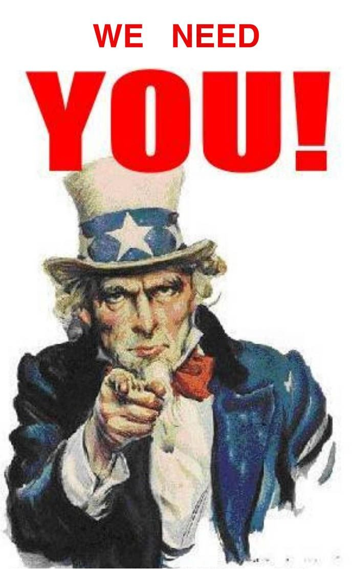 We Want You Poster Uncle Sam We Need You Poster I Want You