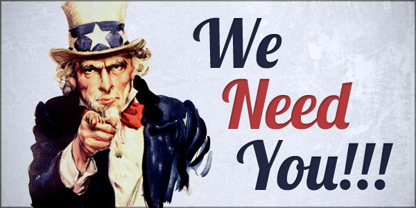We Want You Poster We Need You Historic West End