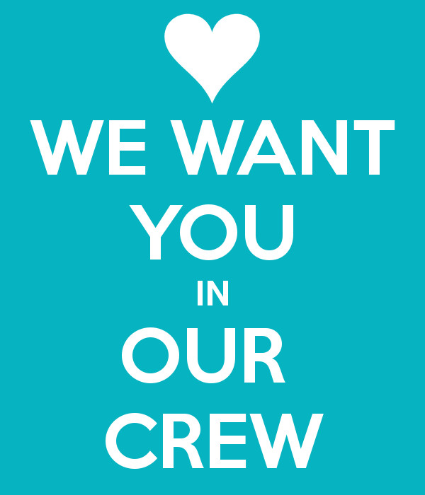 We Want You Poster We Want You In Our Crew Poster Jg