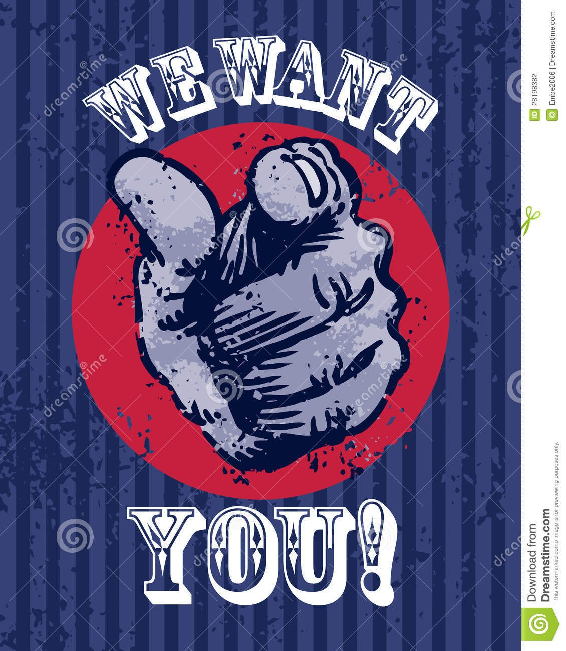 We Want You Poster We Want You Poster Stock Vector Illustration Of Pointing