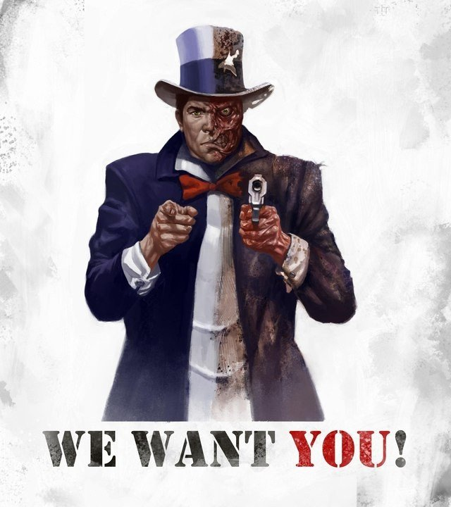 We Want You Poster where Does Batman Get All This Wonderful Concept Art