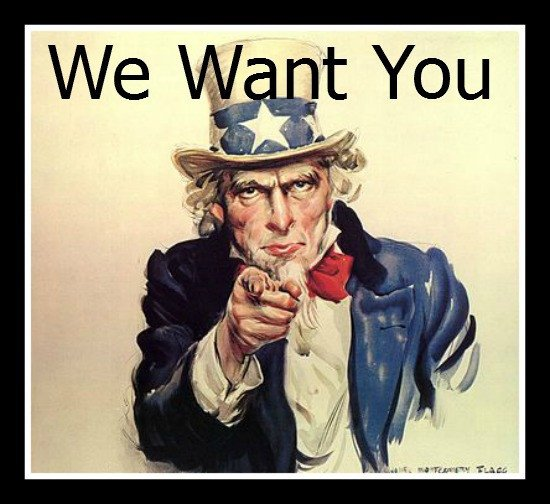 We Want You Poster why aren T You Writing for Weekend Notes Perth