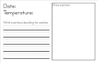 Weather Journal Template Kids Diary Template Frompo 1