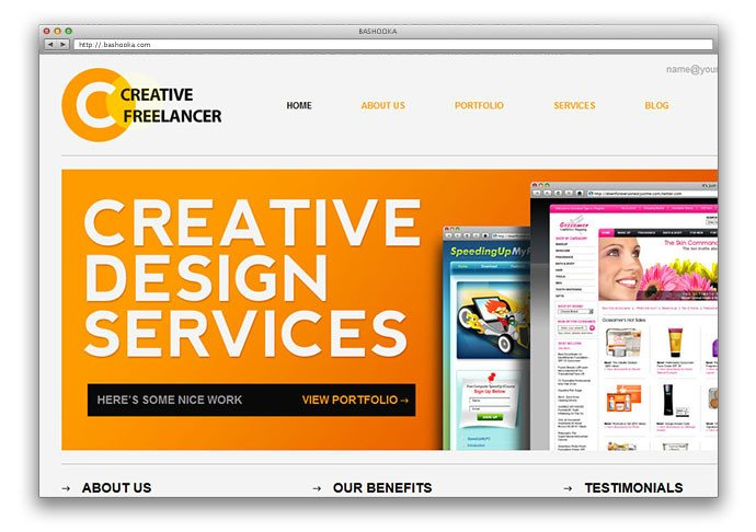Web Developer Portfolio Templates 25 Free HTML Portfolio Website Templates