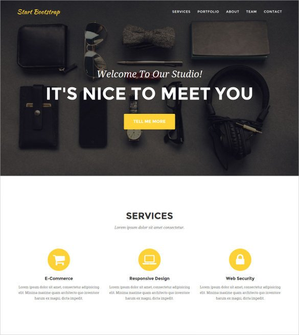 Web Developer Portfolio Templates 36 Portfolio Website themes & Templates