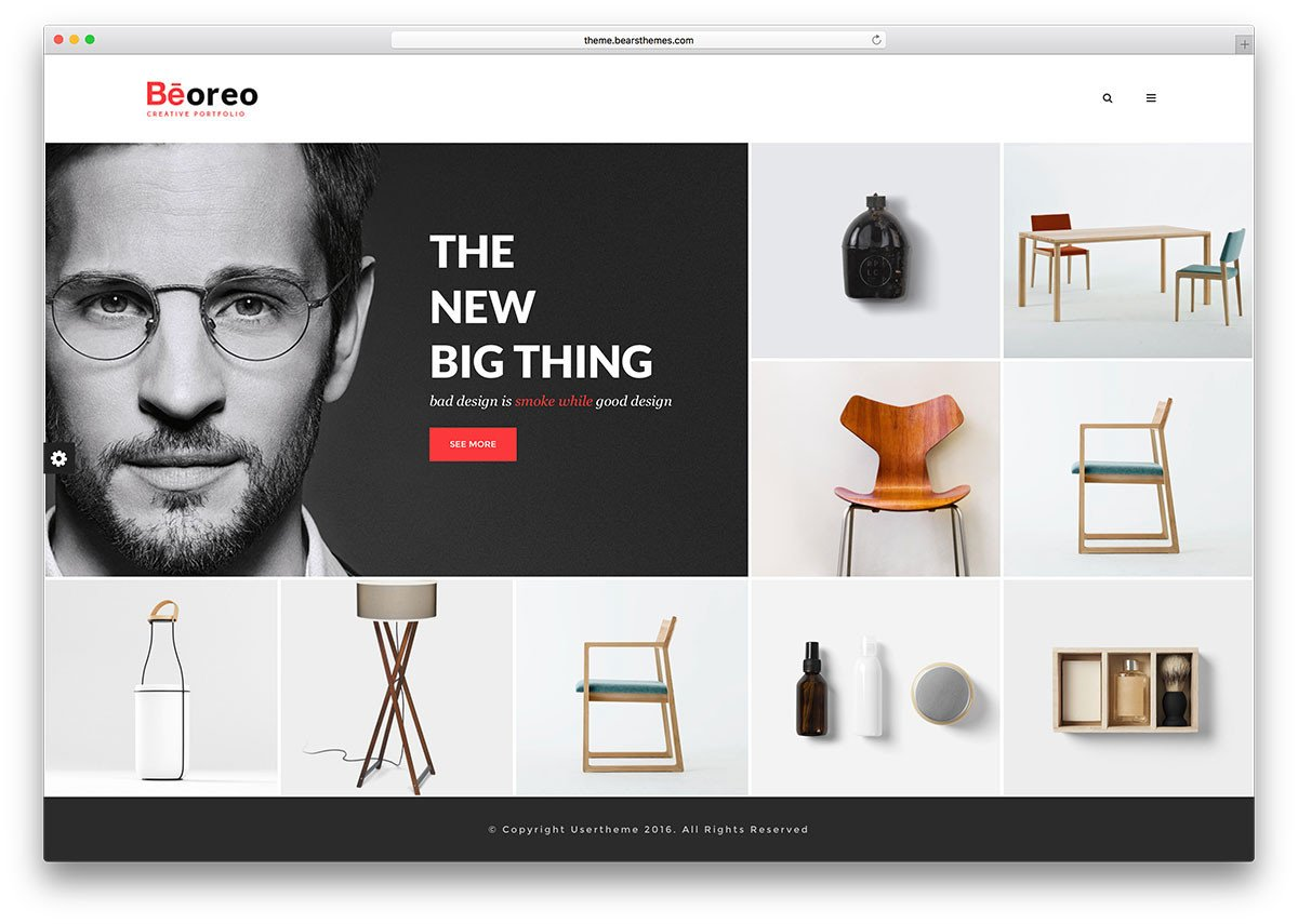 Web Developer Portfolio Templates Wordpress Portfolio themes for Creative Works Mageewp