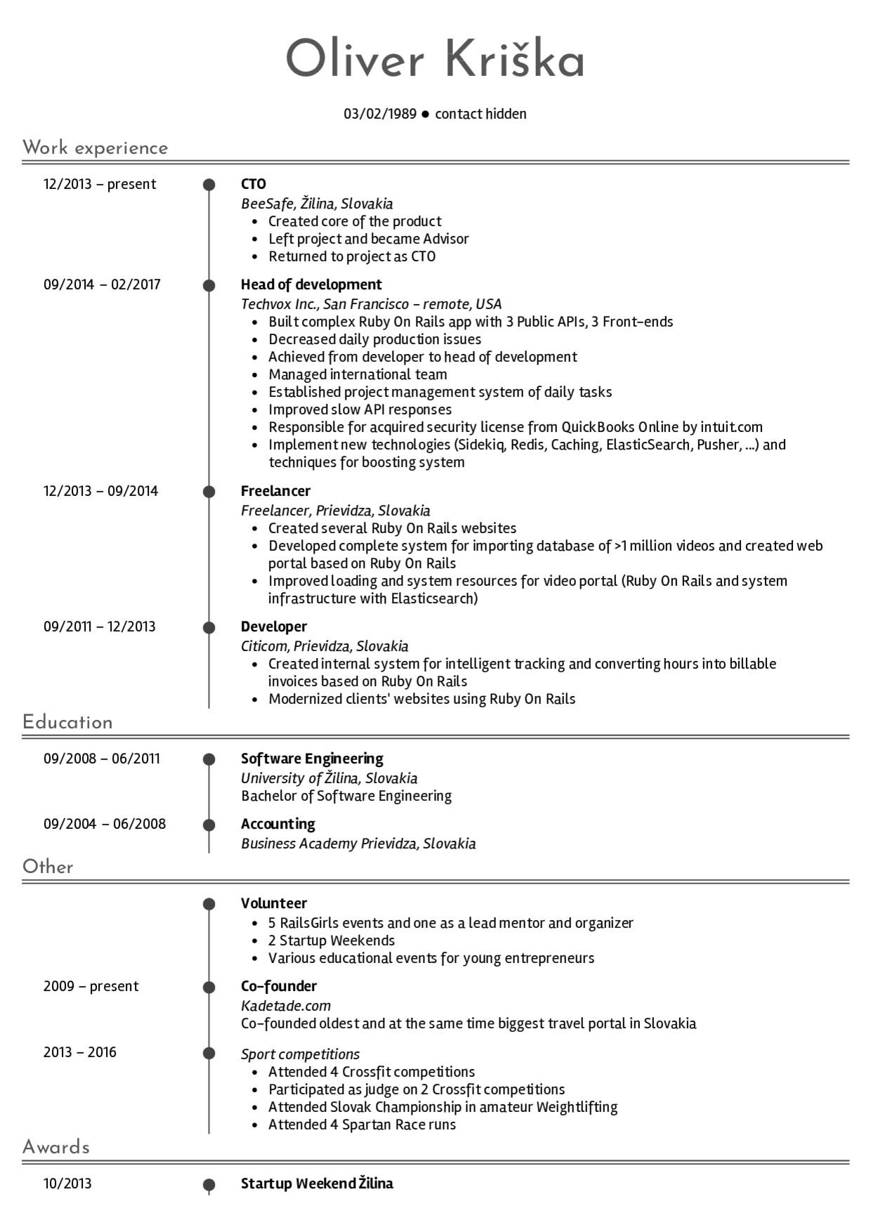 Web Developer Resume Sample Resume Examples by Real People Senior Web Developer
