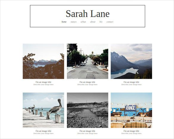 Web Template for Photographer 38 Free & Premium Graphy Website themes & Templates