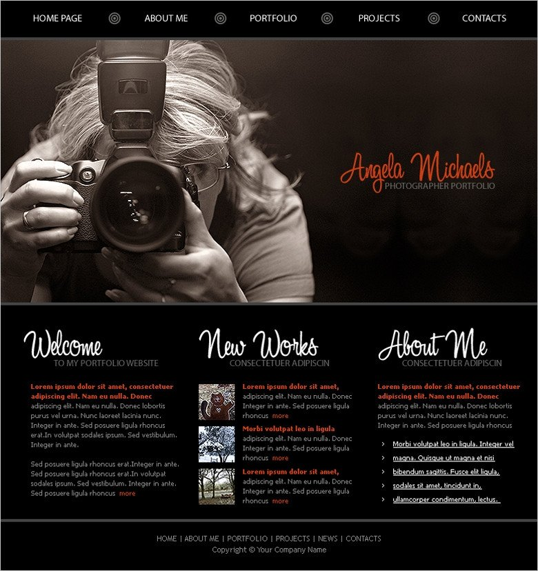 Web Template for Photographer Free Stock Photography Stock Photo File Page 7