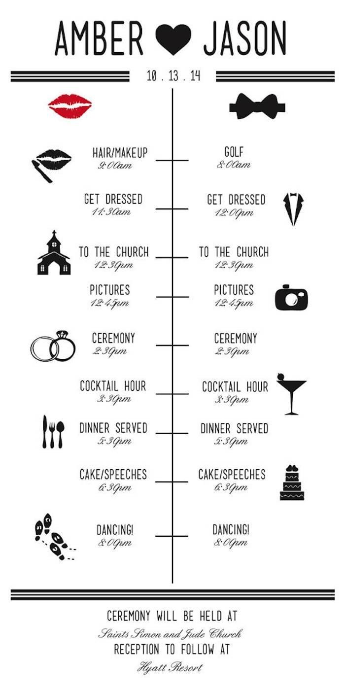 Wedding Ceremony Timeline Template Wedding Reception Timeline Planning Guide Modwedding