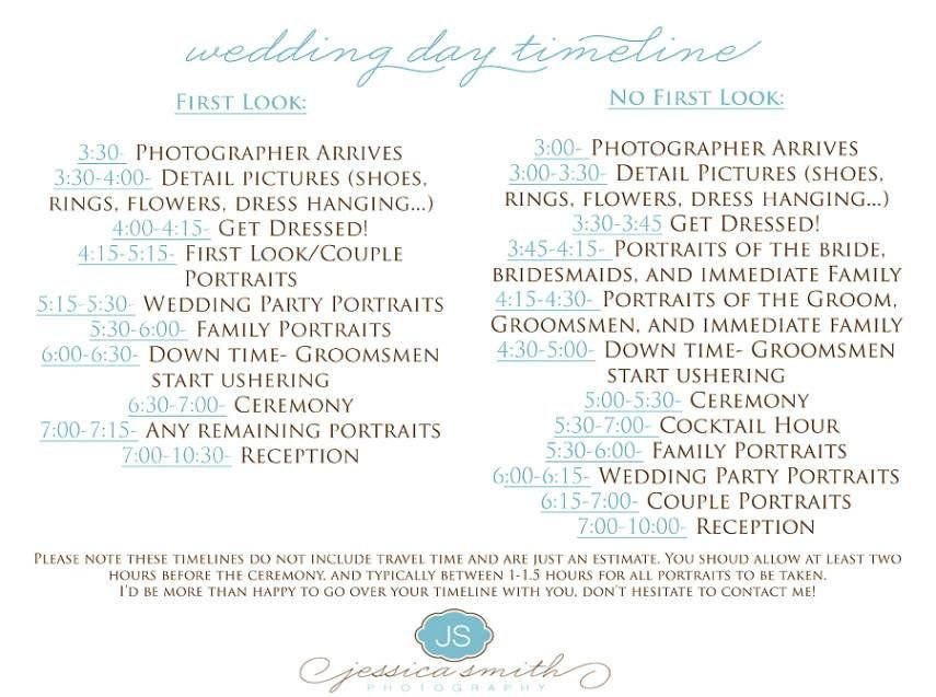 Wedding Ceremony Timeline Template Yes but Everything 1 Hr Earlier Wedding Day Timeline 4pm