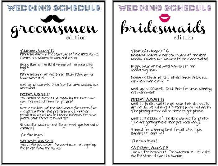 Wedding Day Schedule Templates Best 25 Wedding Timeline Template Ideas On Pinterest