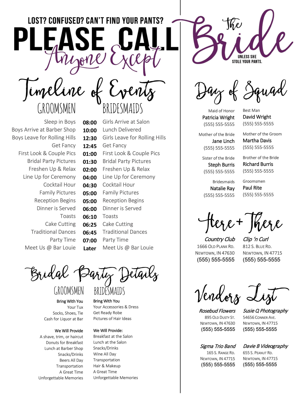 Wedding Day Schedule Templates Wedding Schedule Template Purple Timeline Of events
