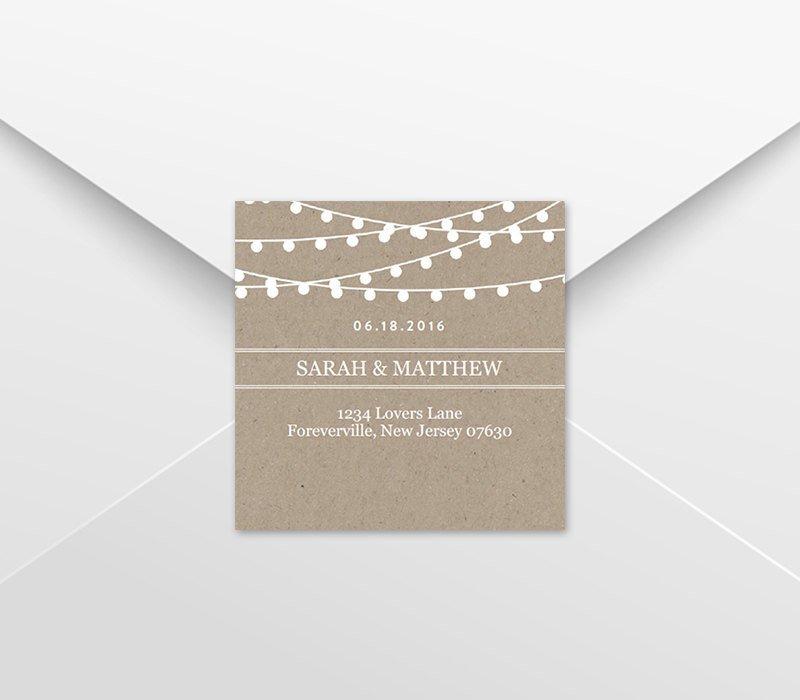 Wedding Favor Tags Template Wedding Favor Tag Template Return Address Labels Kraft