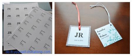 Wedding Favor Tags Template Wedding Invitation Templates Create Easy Diy Invites