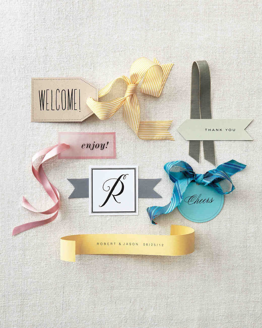 Wedding Favor Tags Templates Favor Tag Clip Art and Templates