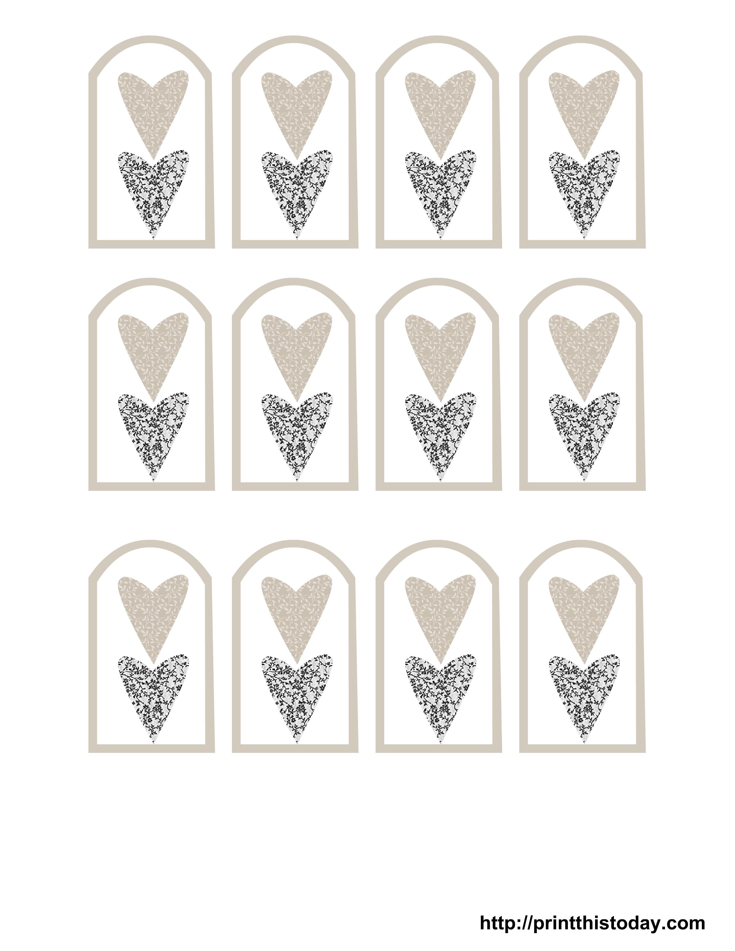 Wedding Favor Tags Templates Free Printable Wedding Favor Tags