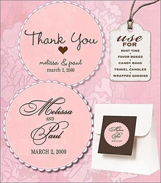 Wedding Favor Tags Templates Free Wedding Labels for Favors Invitations and Other Diy