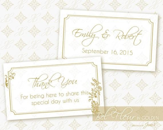 Wedding Favor Tags Templates Items Similar to Printable Favor Tag Wedding Template