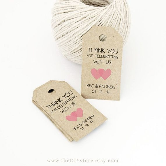 Wedding Favors Tags Template Best 25 Favor Tags Ideas On Pinterest