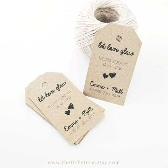 Wedding Favors Tags Template Favor Tag Template Medium Two Small Hearts Wedding