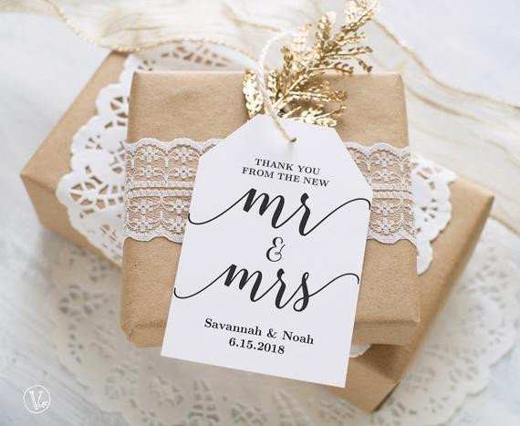 Wedding Favors Tags Template Favor Tags Printable Wedding Favor Tags Template Thank You
