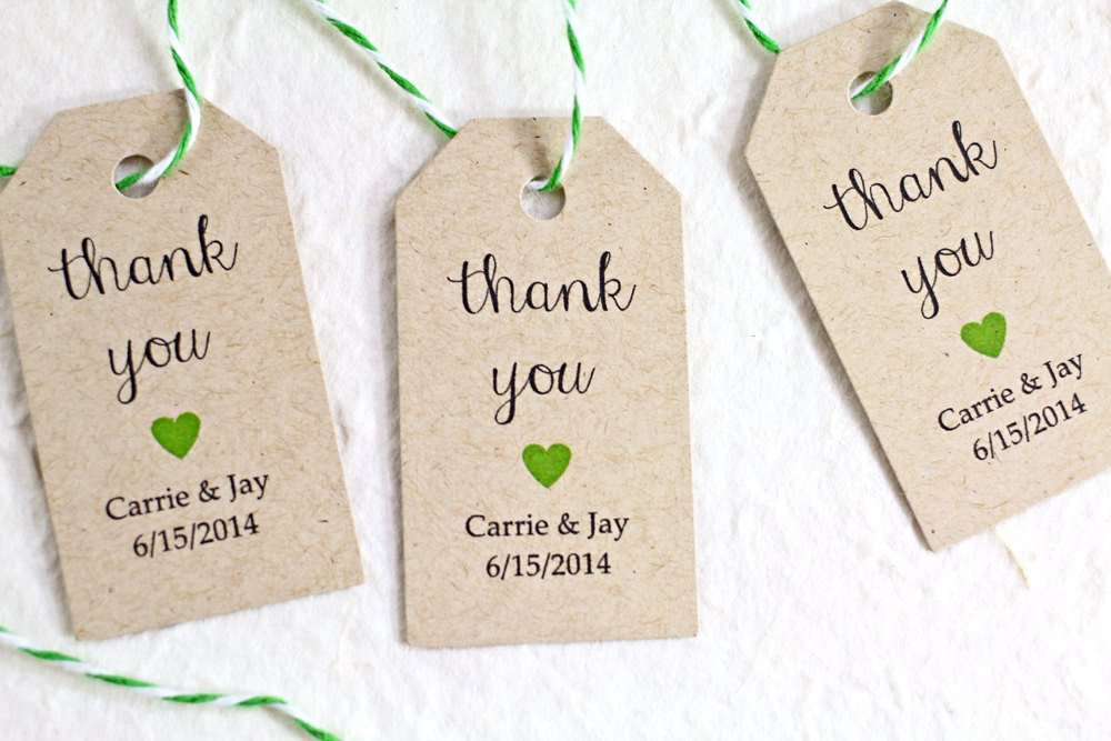 Wedding Favors Tags Template Personalized Wedding Favor Tags Kraft Paper Rustic by Idotags