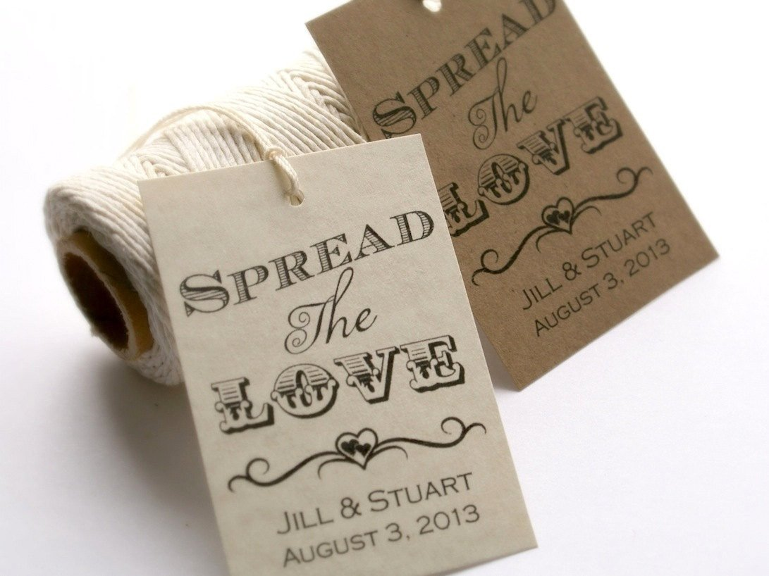 Wedding Favors Tags Template Printable Spread the Love Tags Diy Wedding Favor Tags