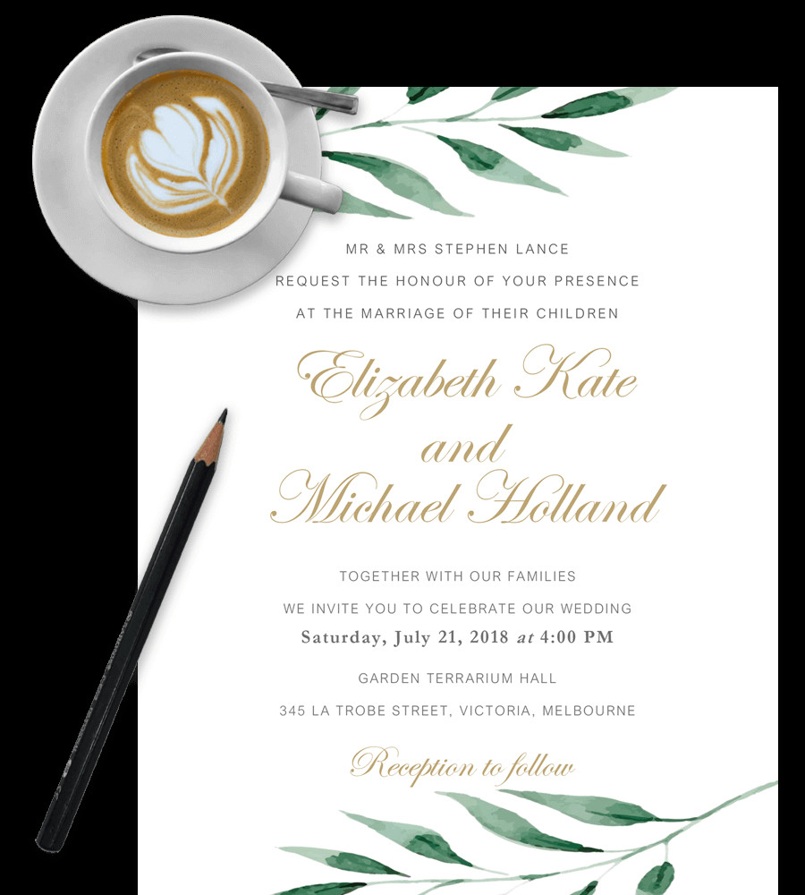Wedding Invitation Templates Word Free Wedding Invitation Templates In Word [download