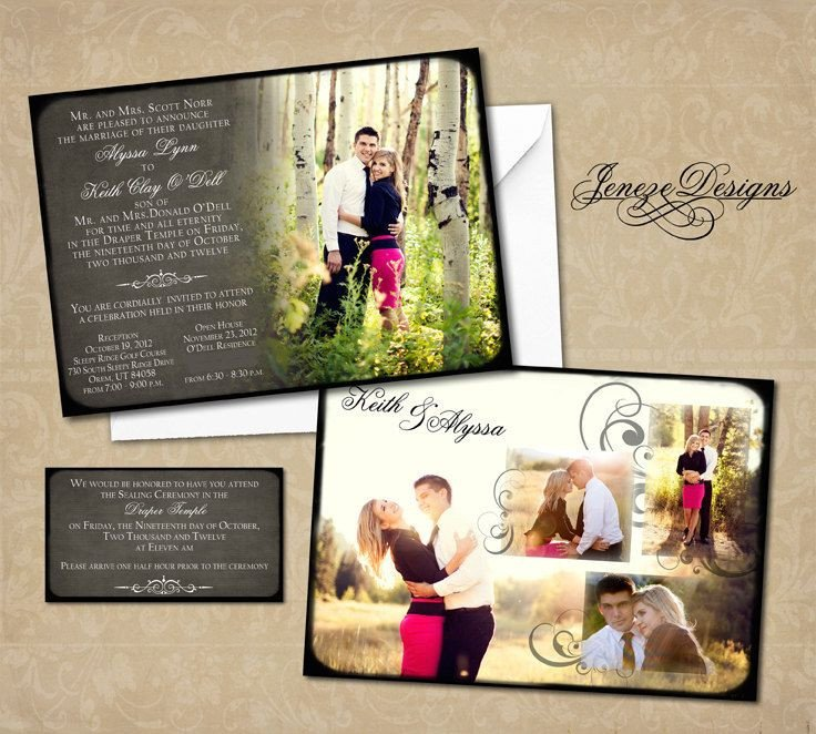 Wedding Invitations Photoshop Template Wedding Invitation Shop Template for Graphers
