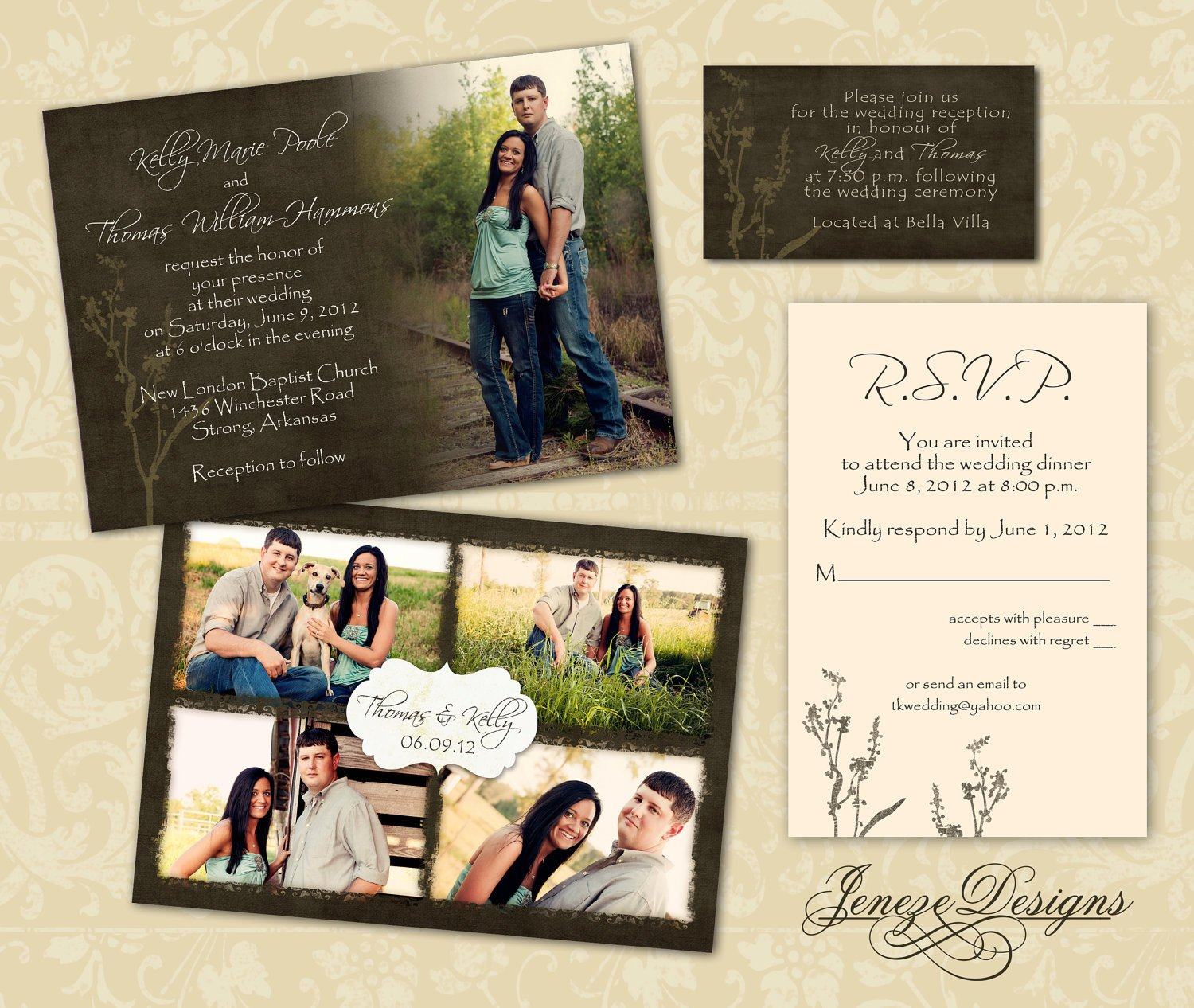 Wedding Invitations Photoshop Template Wedding Invitation Template Graphers and Shop