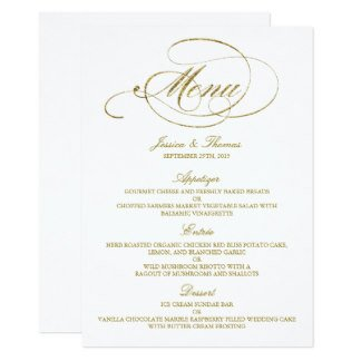 Wedding Menu Card Templates Wedding Menu Cards