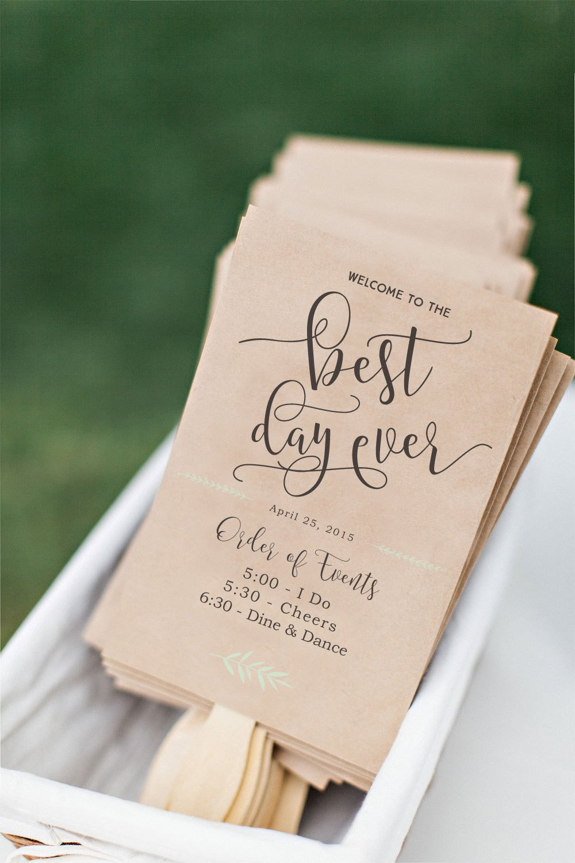 Wedding Program Fan Templates Printable Wedding Program Fan Diy Wedding Program Fun