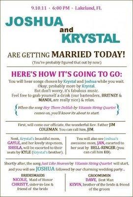 Wedding Program Template Google Docs Extra Creative Programs