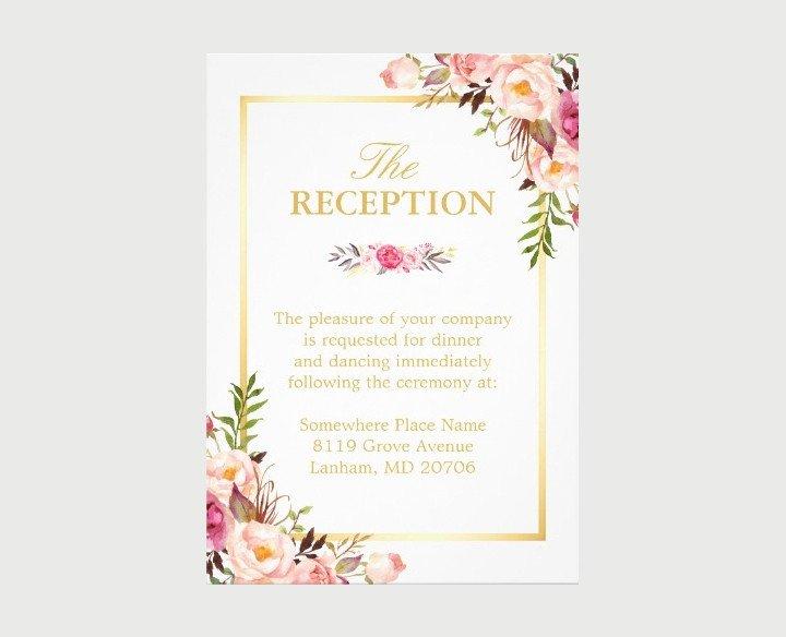 Wedding Reception Invite Templates 15 New Wedding Reception Invitation Templates Psd Ai