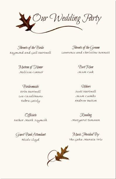 Wedding Reception Program Template Best 20 Wedding Program Samples Ideas On Pinterest
