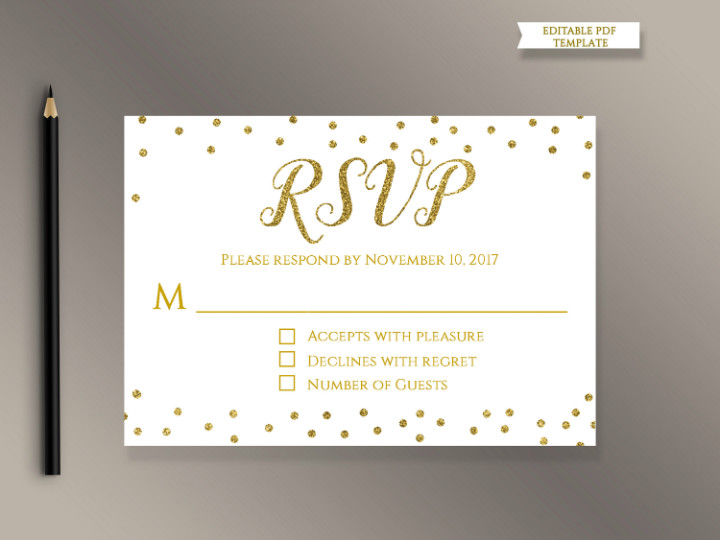 Wedding Rsvp Cards Template 18 Wedding Rsvp Card Templates Editable Psd Ai Eps