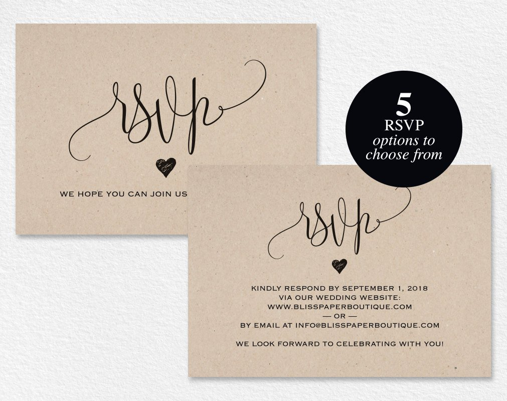 Wedding Rsvp Cards Template Rsvp Postcard Rsvp Template Wedding Rsvp Cards Wedding Rsvp