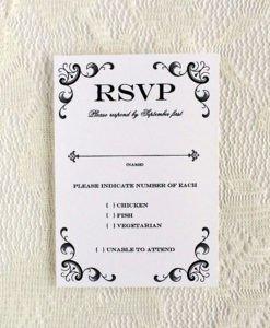 Wedding Rsvp Cards Templates Rsvp Cards