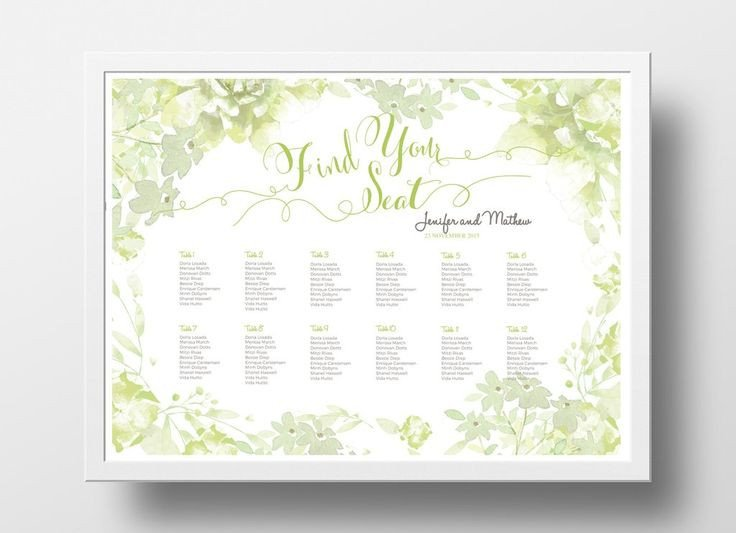 Wedding Seating Chart Poster Templates 17 Best Images About Diy Wedding Seating Chart Poster